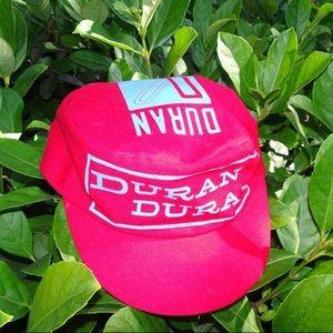 Vintage Duran Duran 80s Cycling Hat